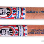 Campaign bubble gum cigars from the 1968 presidential campaign.