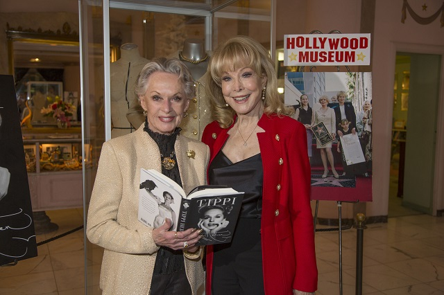 (L-R) Tippi Hedren and Barbara Eden; Photo Courtesy of Bill Dow Photography