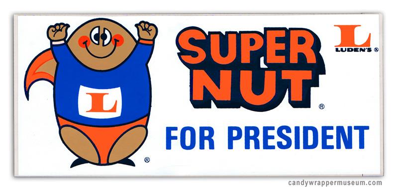 Super Nut Bumpersticker | The LA Beat