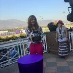 Actress Allison Jenny at  Breeders Cup World Championship 2016