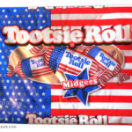 Tootsie is an American candy institution, so why not candy wearing the flag?