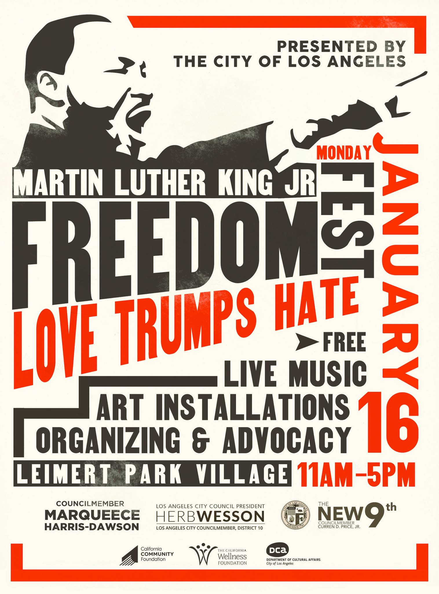Celebrate Martin Luther King Jr. Day in LA with a Parade, Festivals and Free Cake!