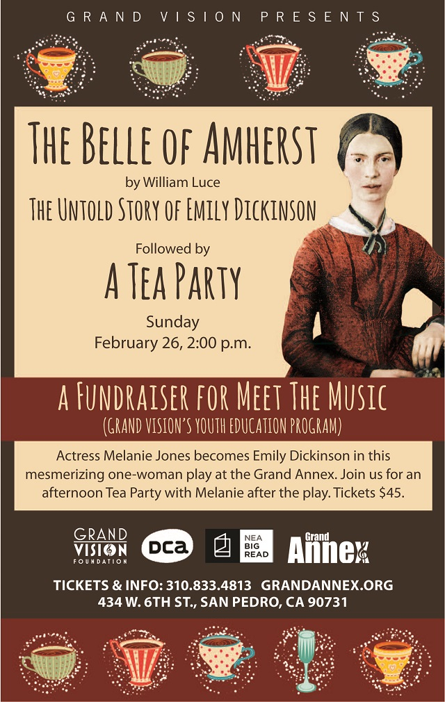 """""""The Belle of Amherst"""": The Untold Story of Emily Dickinson"""