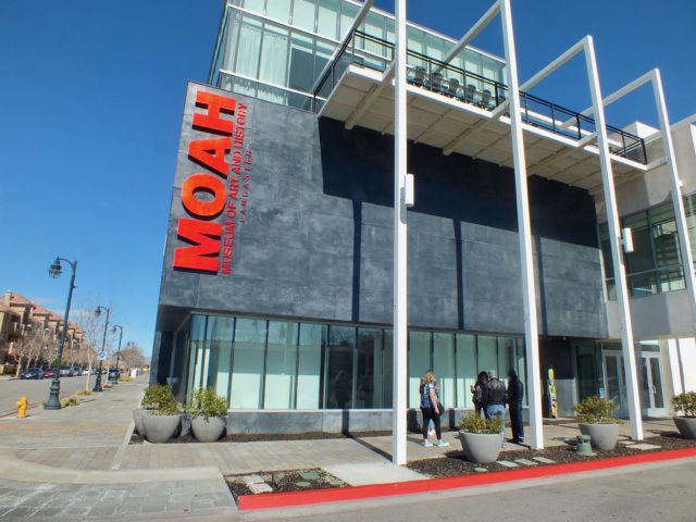 Museum of Art and History in Lancaster's BLVD. Photo by Ed Simon for The Los Angeles Beat