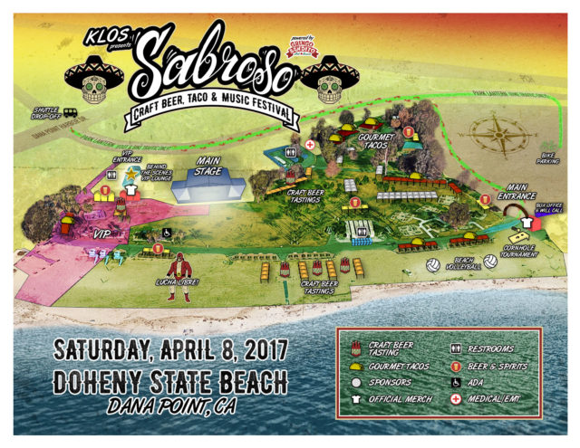 Upcoming Sabroso Craft Beer, Taco and Music Fest Offers Fun and Excellent Beers and  Much More at Doheny Beach