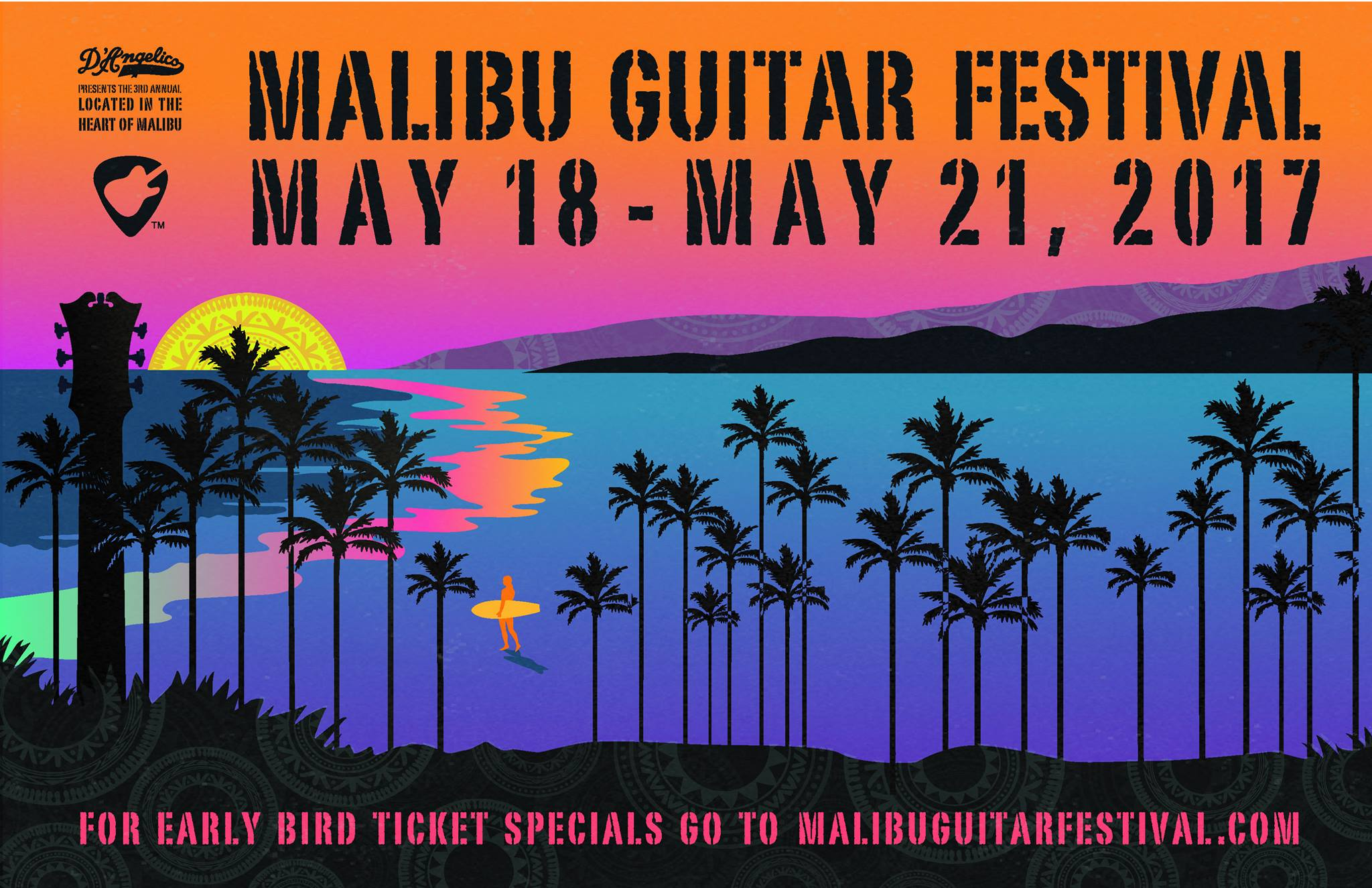 The 3rd Annual Malibu Guitar Festival: Mick Fleetwood and Steve Vai Headline!