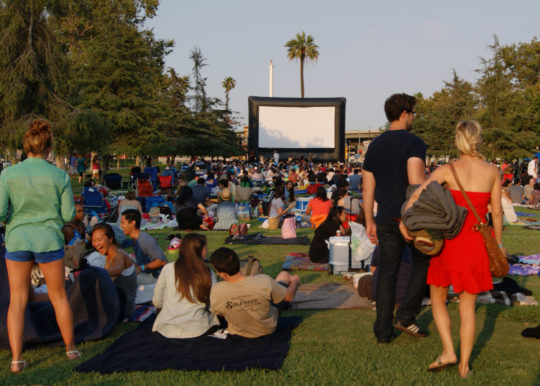 Street Food Cinema at Exposition Park.
