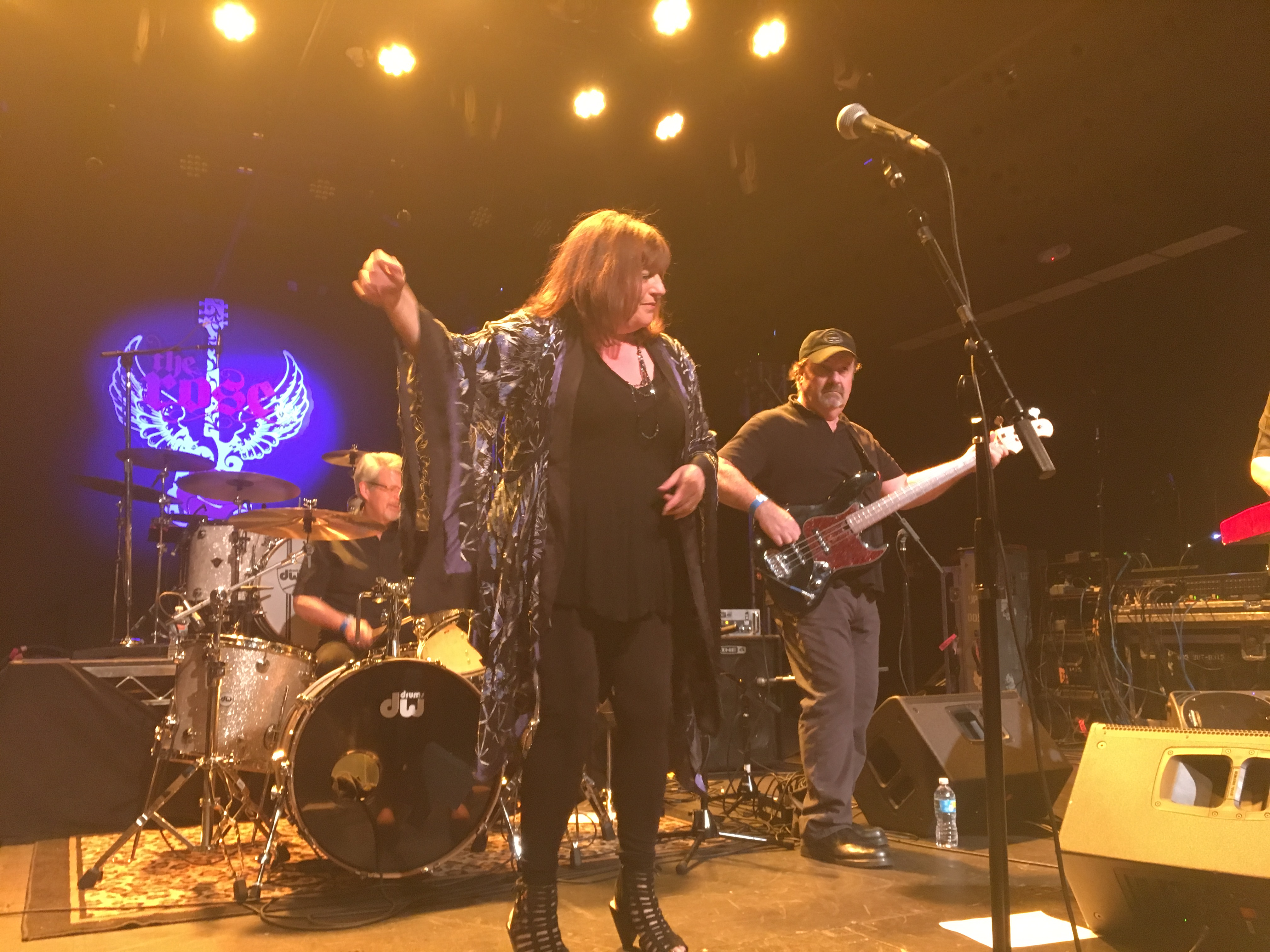 Sidney Iverson belts it out at the Rose in Pasadena with power and finesse-- a whole lotta soul that fuses Janis, Tina, and Aretha