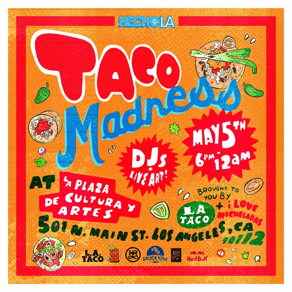Taco Madness is Back!!! Tonight!!!