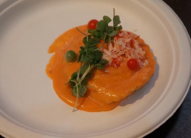 Lobster ravioli by La Vecchia Cucina. | The LA Beat