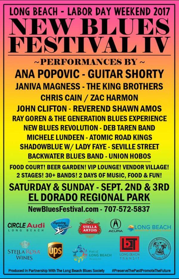 New Blues Festival IV poster