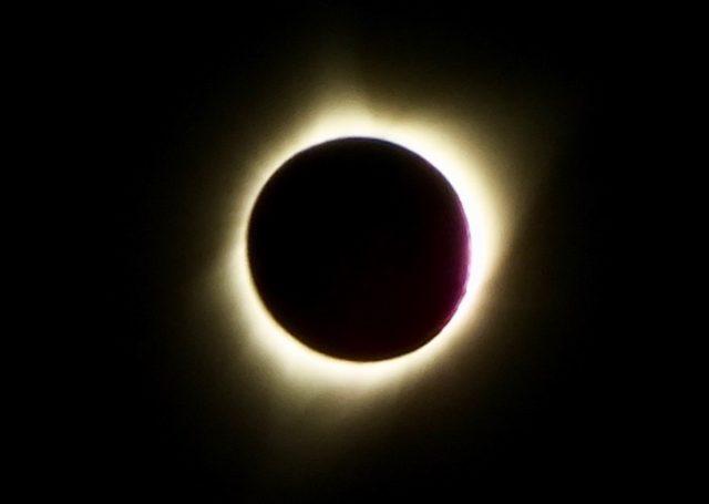 Total Solar Eclipse 2017 in Sweet, Idaho