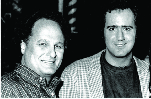 Budd Friedman and Andy Kaufman
