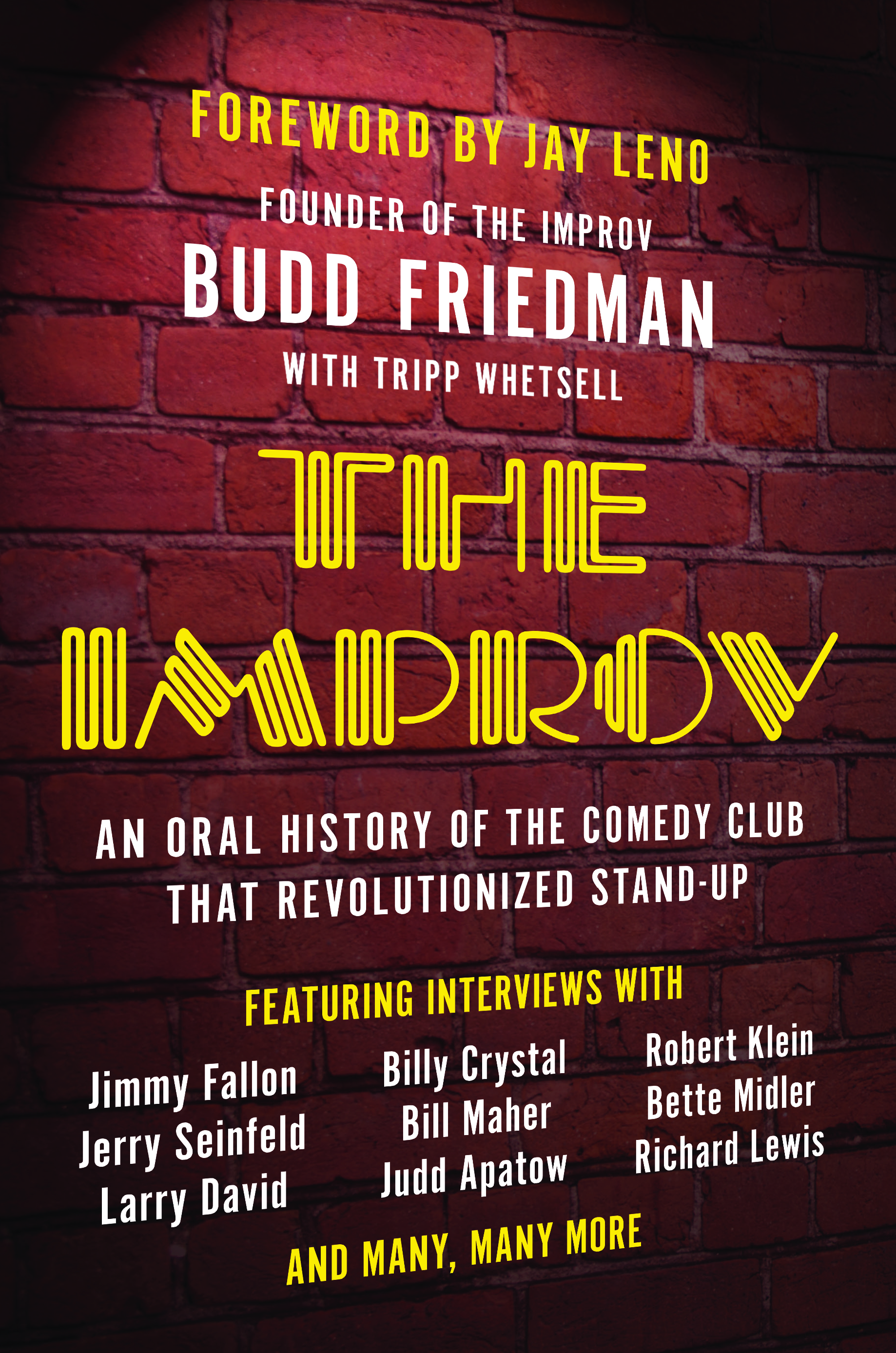 The Improv by Budd Friedman, front cover