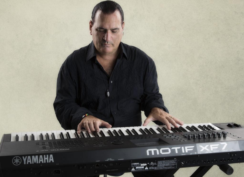 David Garfield with Keyboard