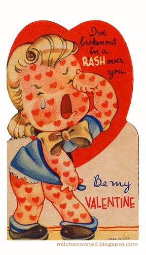 Vintage Valentine Day Cards 03 The La Beat