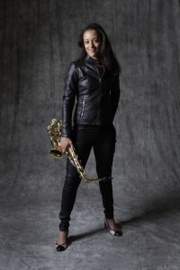 Vanessa Collier standing